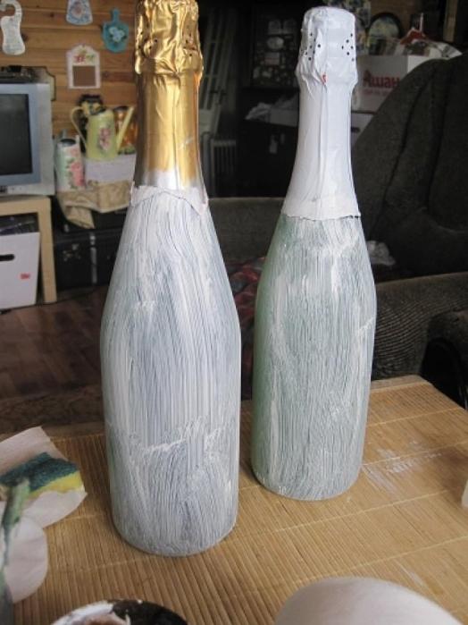 Подготовка бутылок