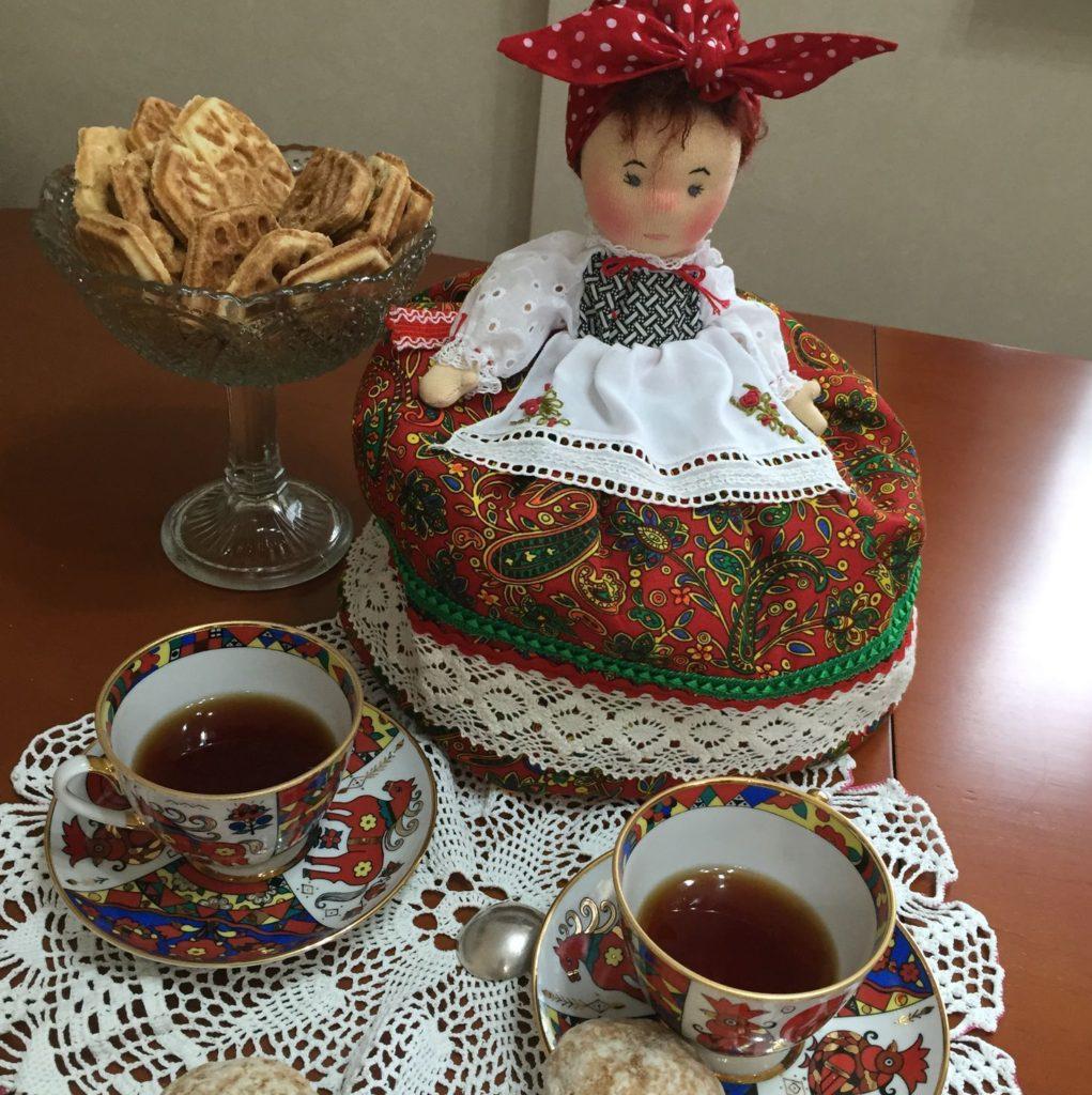 Баба на чайник - пошаговая инструкция для начинающих