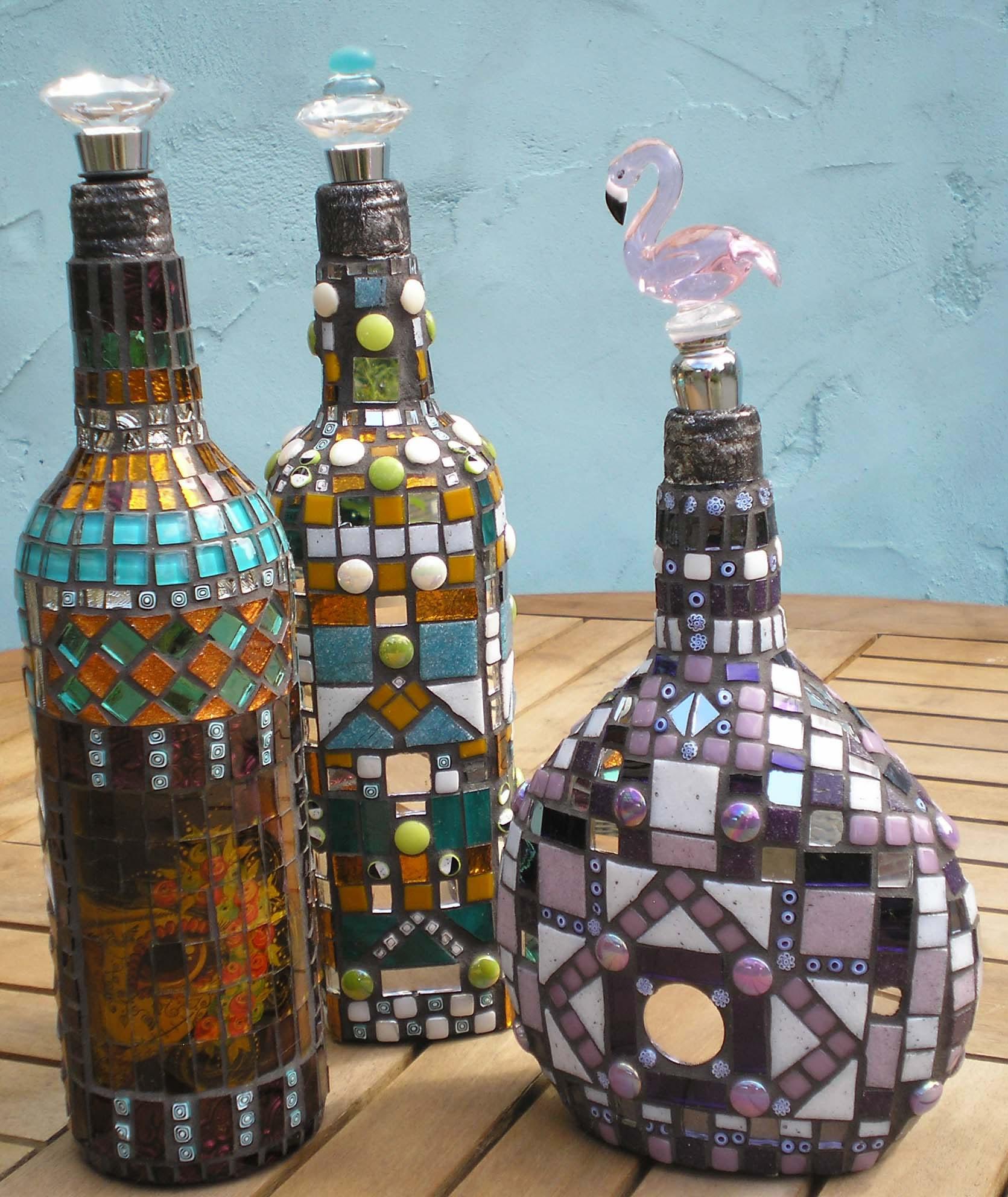 Форма бутылок