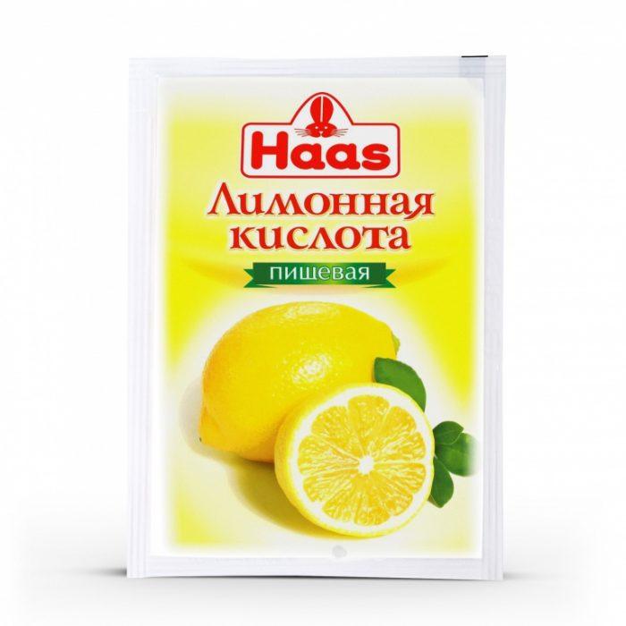 Пищевая лимонная кислота