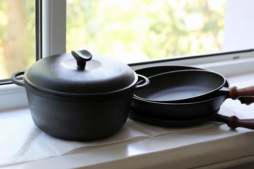 Посуда из чугуна