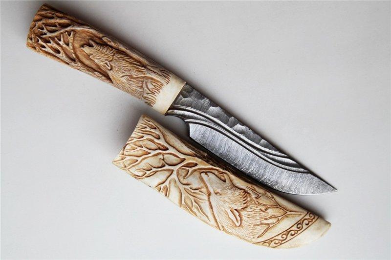 Резьба на ноже