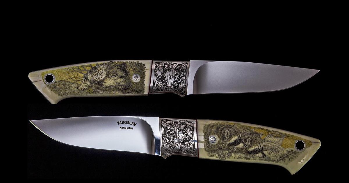 Скримшоу на ноже