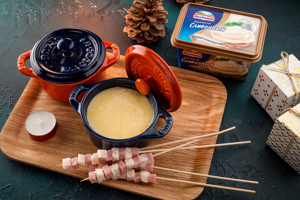 Сырное фондю к праздничному столу