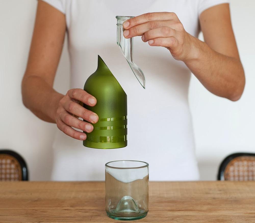 Как разрезать бутылку