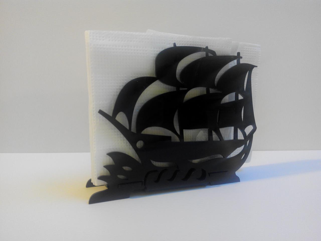 Салфетница кораблик