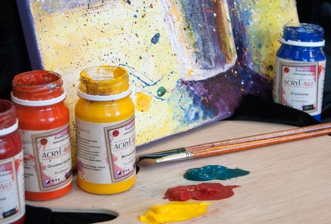 Акриловые краски для рисования