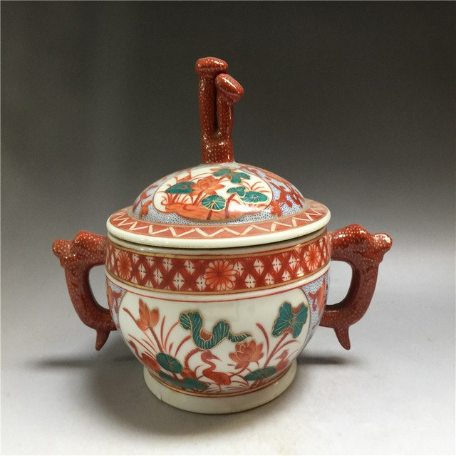 Античный антиквариат китайский фарфор