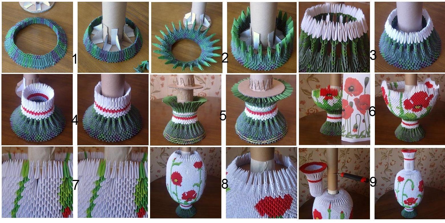 Изготовление напольной вазы