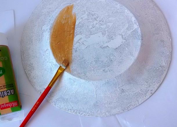 Как сделать оформление тарелки