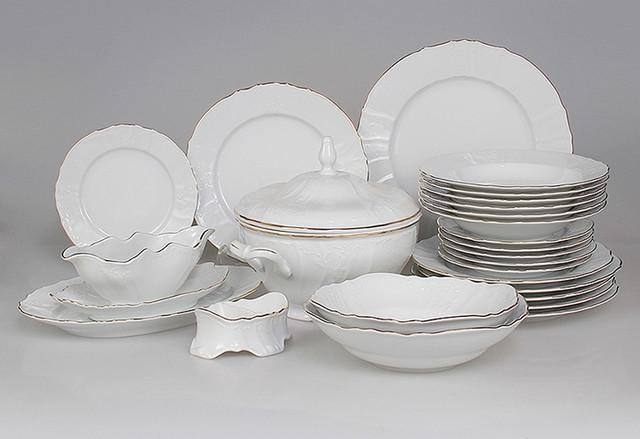 Красивые фарфоровые тарелки