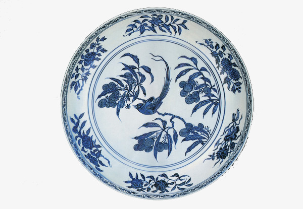 Красивый традиционный китайский фарфор