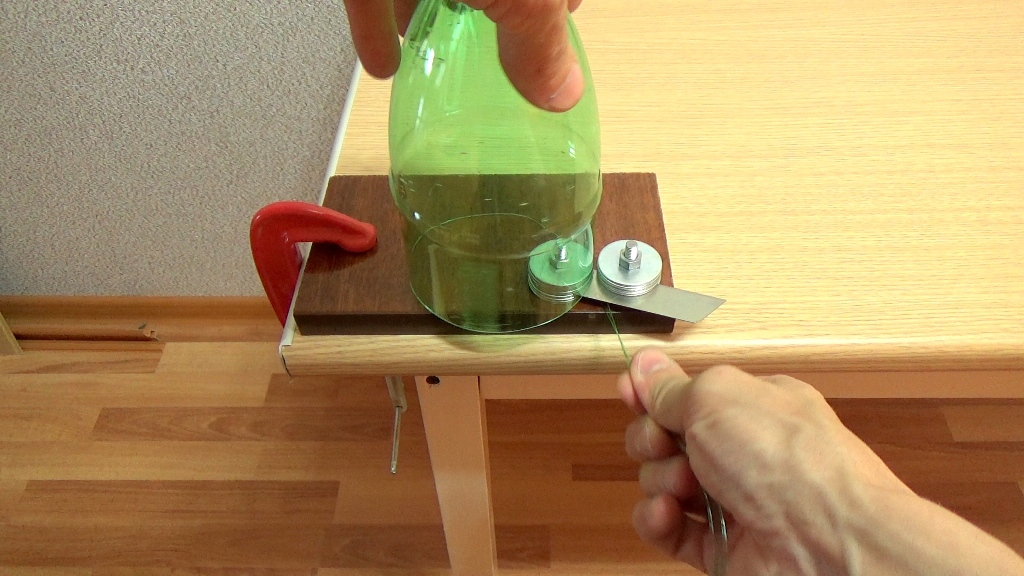 Использование бутылкореза