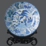 Оригинальное оформление посуды из Китая