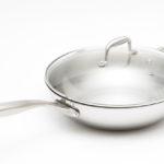 Сковорода-вок с стеклянной крышкой
