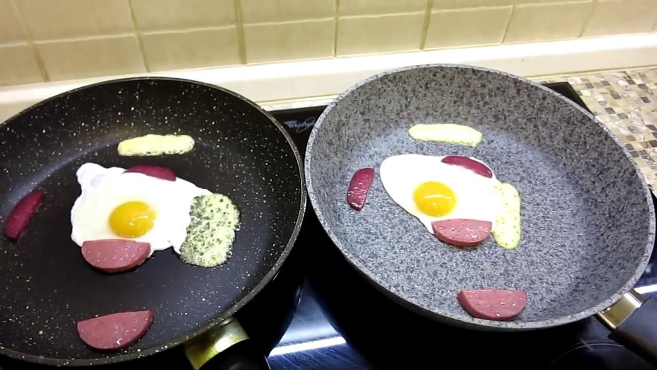 Сковороды с гранитным покрытием