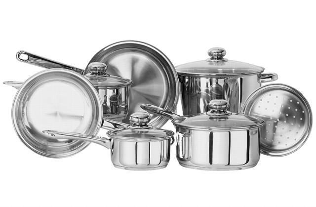 Современная алюминиевая посуда