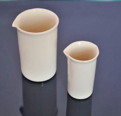 Стакан керамический лабораторный