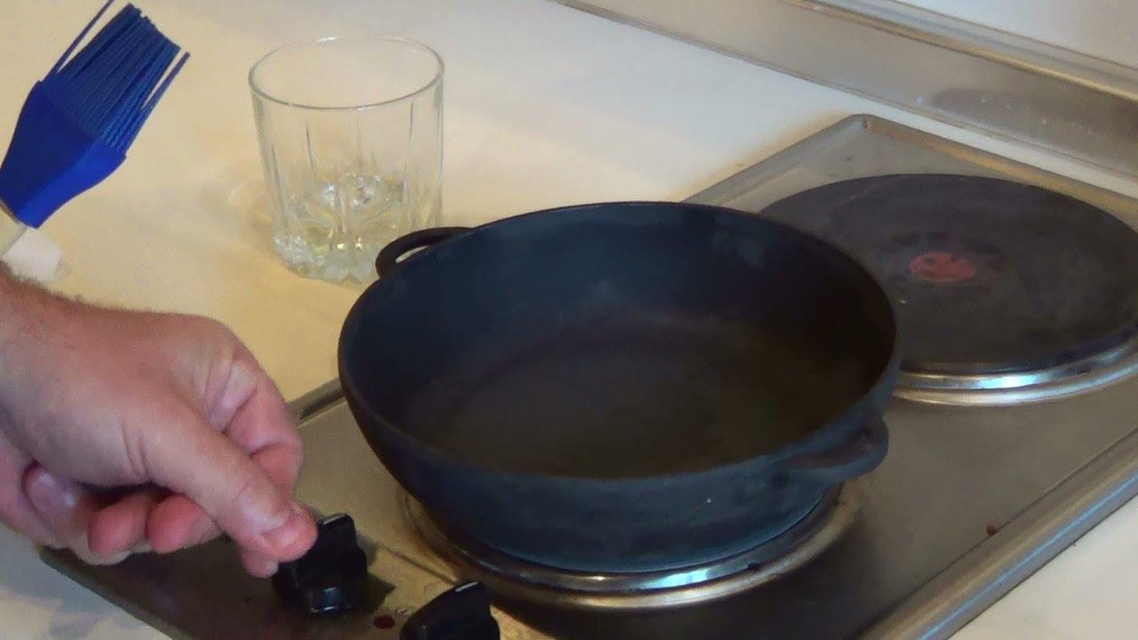 Уход за чугунными сковородками