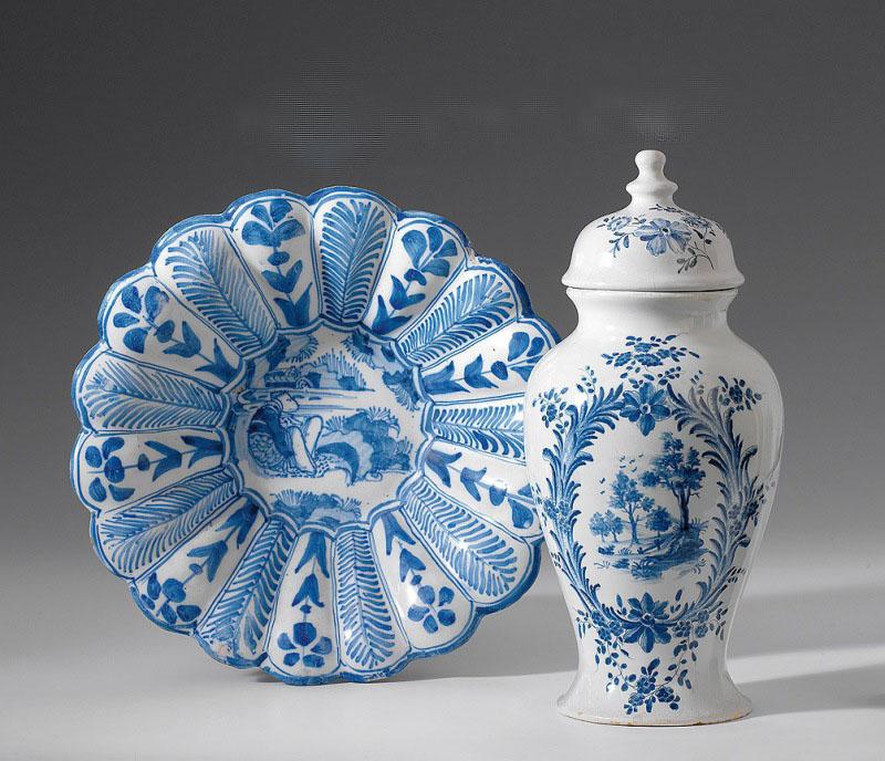 В синем цвете