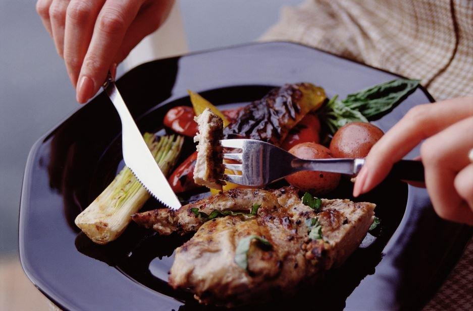 Выбор столовых приборов для разной еды
