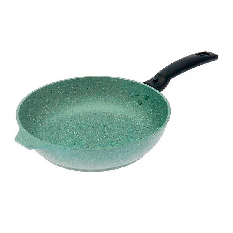 Зеленая сковорода Kukmara