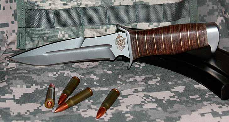 Боевой нож спецподразделений ФСБ
