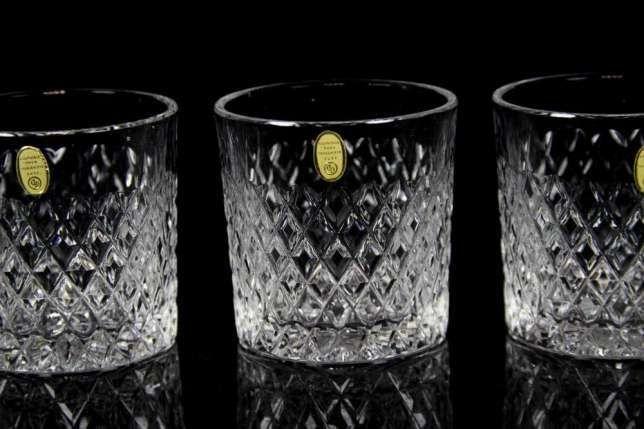 Хрустальная для виски