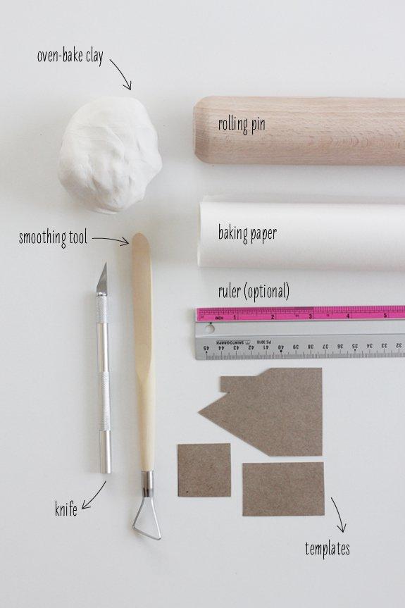Инструменты для создания горшка