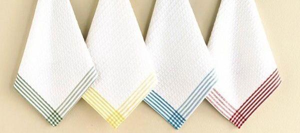 Как отбелить полотенце