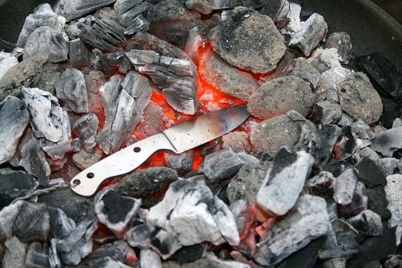 Как правильно закалить нож самостоятельно