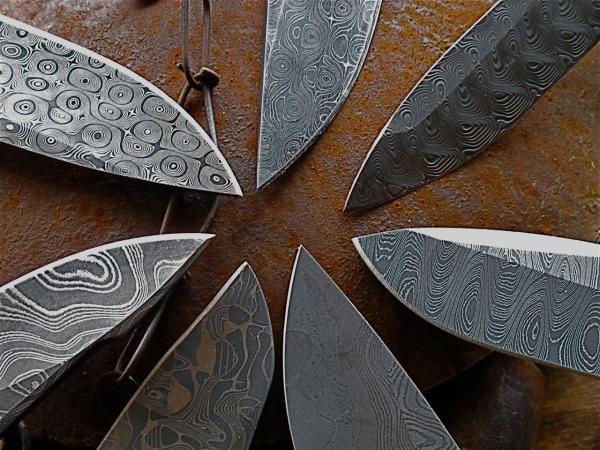 Маркировка стали ножа