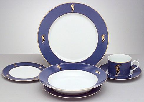 Оригинальное оформление посуды