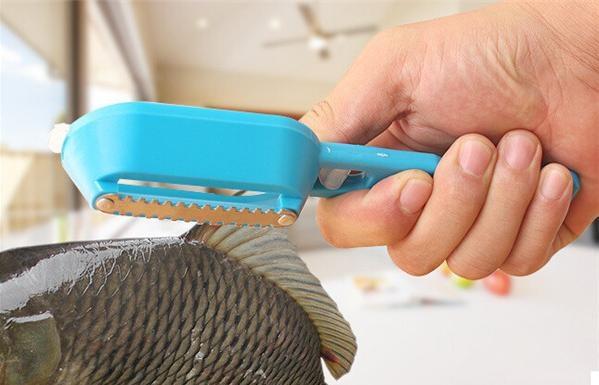 Особенности выбора ножа для очистки чешуи