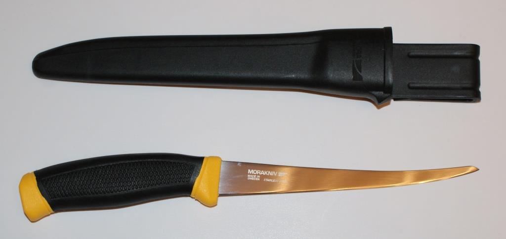 Резиновый вид рукоятки ножа для филе