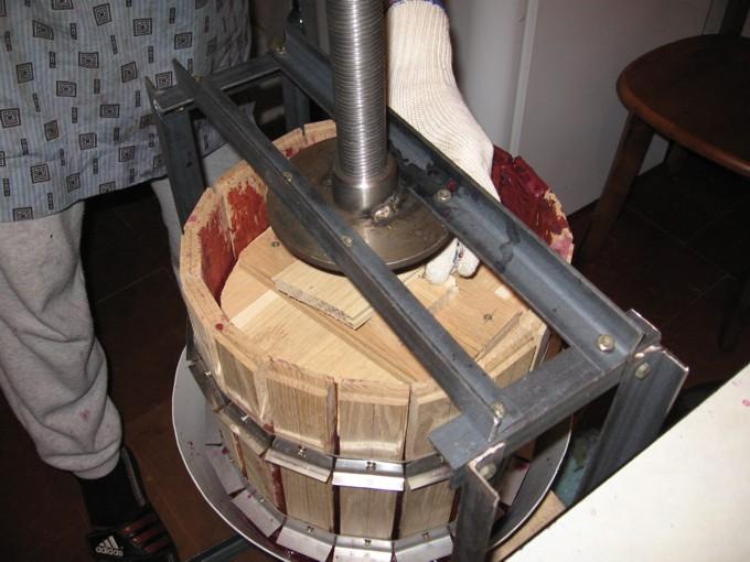 Создание виноградного пресса своими руками