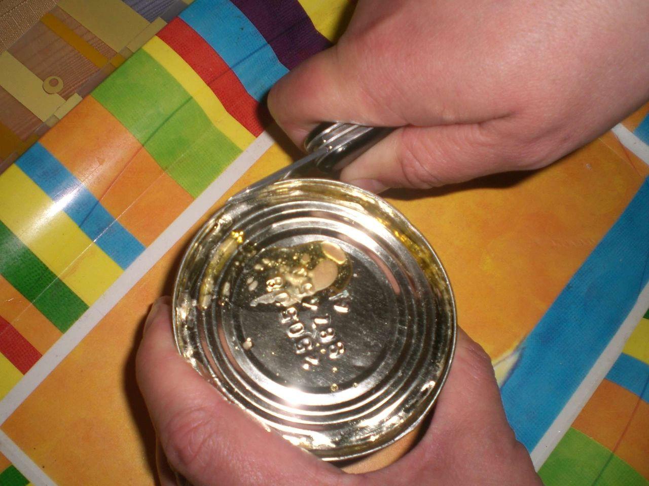 Способы открыть консервную балку