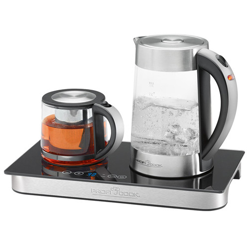 Стеклянный вид электрического чайника