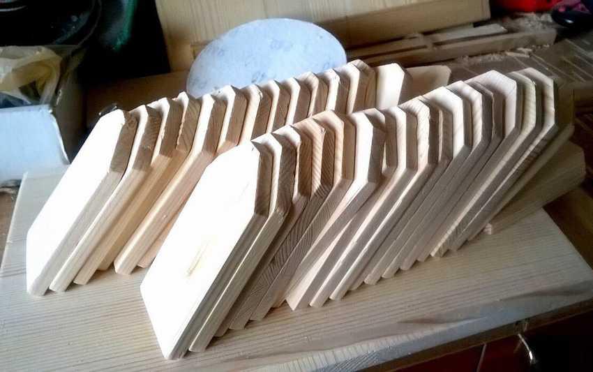 Заготовки дерева для горшка