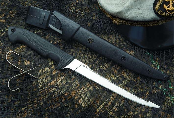 Нож для рыбалки с ножнами