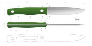 Рыбацкой нож
