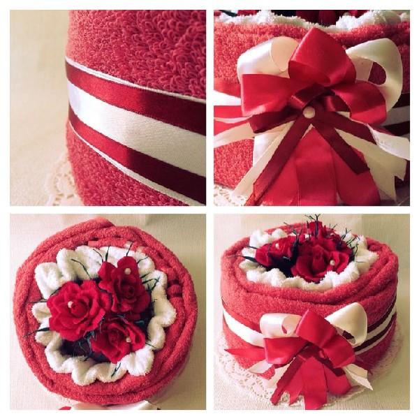 Красивый тортик с ветами