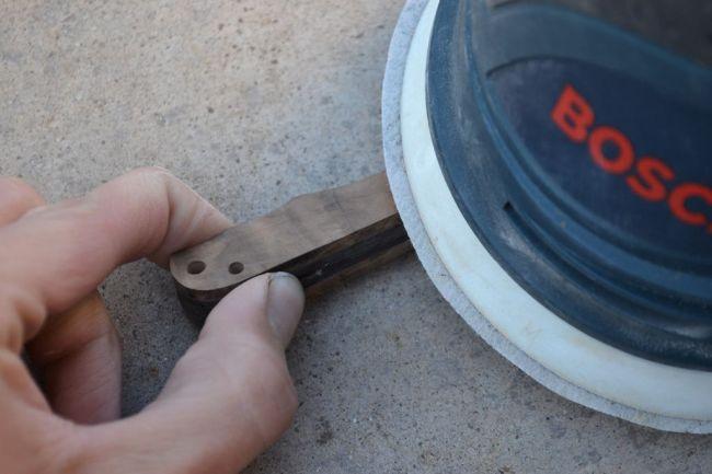 Обработка рукоятки