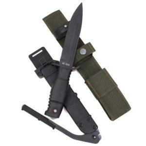 """Нож """"Ратник"""" с крепежом для штык-ножа"""