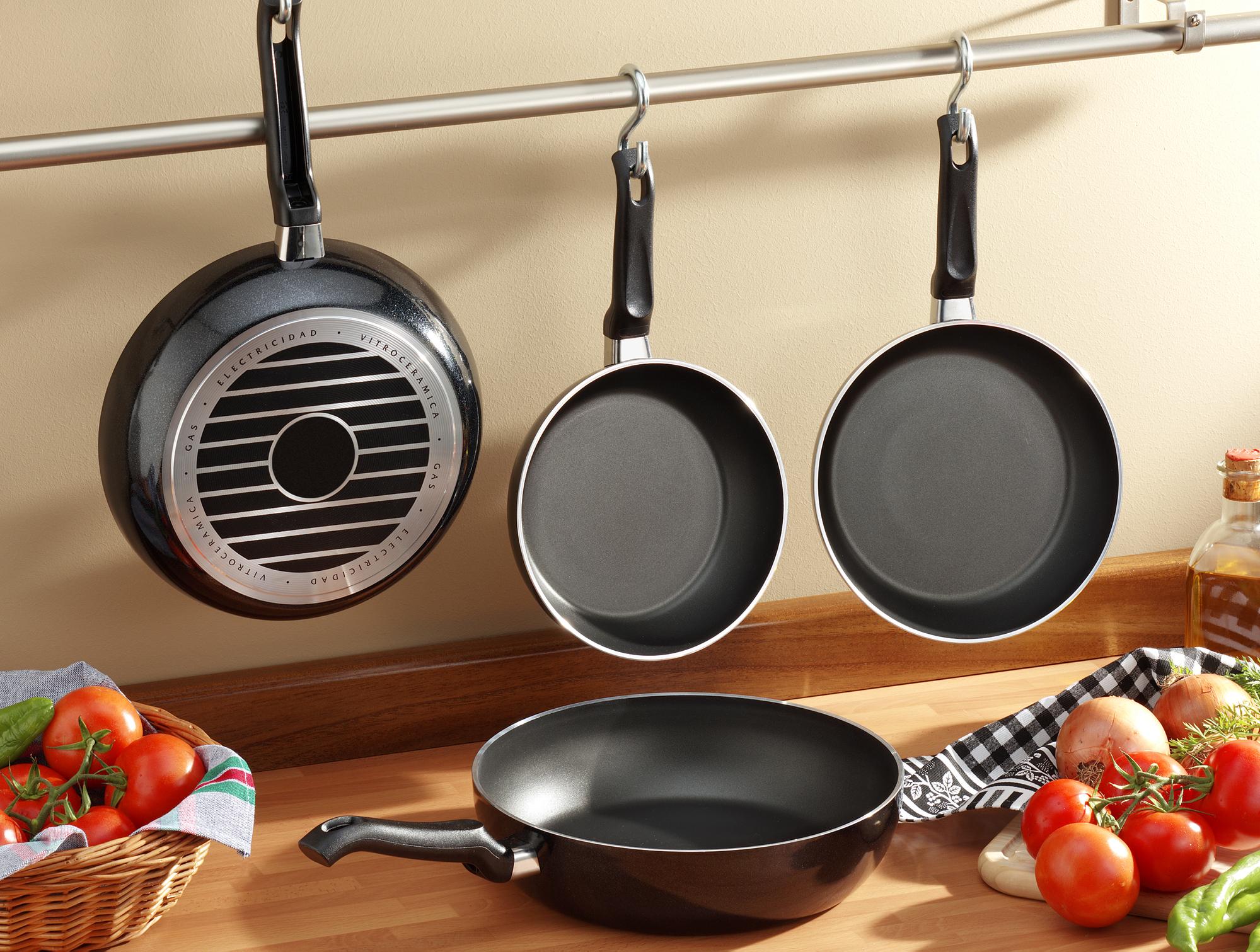 Рейтинг самых удобных размеров сковородок